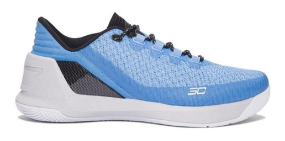 Nba Tenis Under Armour Sc3 Stephen Curry 3 Low Azul Original