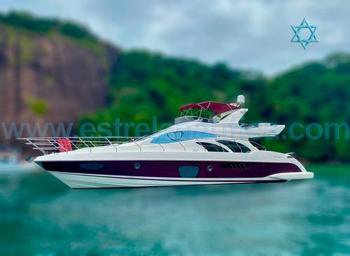 Lancha Intermarine 600 Full Barco Iate Ferretti Azimut Axtor