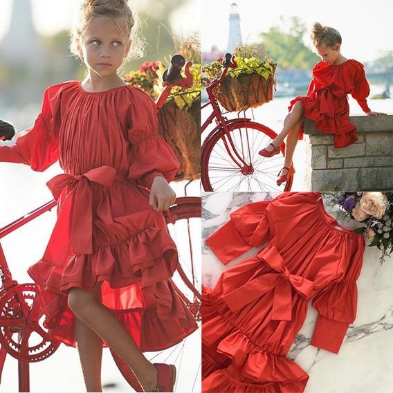 Vestido Español Fiesta Niña Bebe Vintage Boho Hippie Bohemio