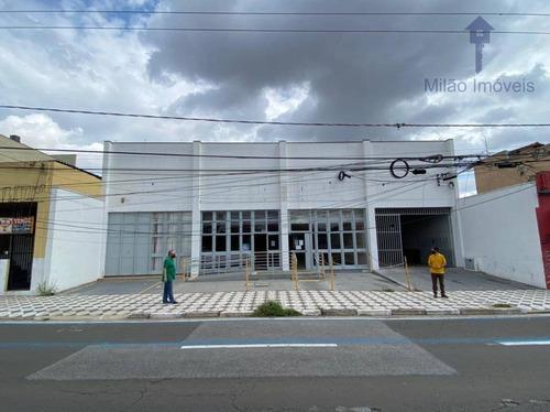 Salão Comercial Para Locação, 748 M² Por R$ 50.000/mês - Av. General Carneiro - Vila Lucy - Sorocaba/sp - Sl0023