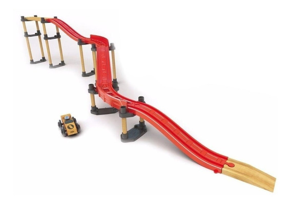 Trencity Turbo Kit Elevacion 38 Piezas Madera Plastico Edu