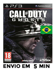 Call Of Duty Ghosts Cod Ps3 Psn Português Envio Agora