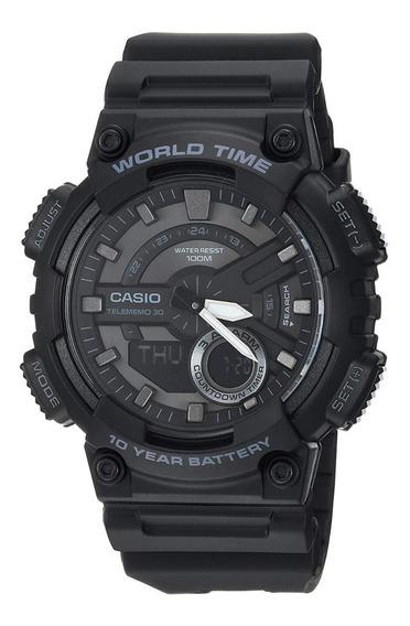 Relógio Casio Linha World Time (aeq-110w-1bvcf)