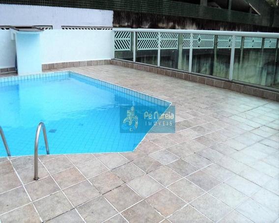 Apartamento Com 2 Dormitórios, 1 Suíte, 1 Sacada, 1 Vaga, À Venda, 90 M² Por R$ 360.000 - Canto Do Forte - Praia Grande/sp - T2f17a - Ap0107