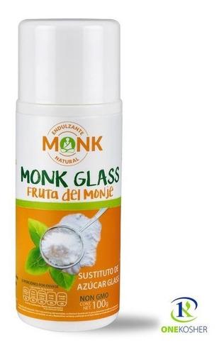 Imagen 1 de 2 de Monk Glass Fruta Del Monje 100 Gr. Combo Dos Piezas