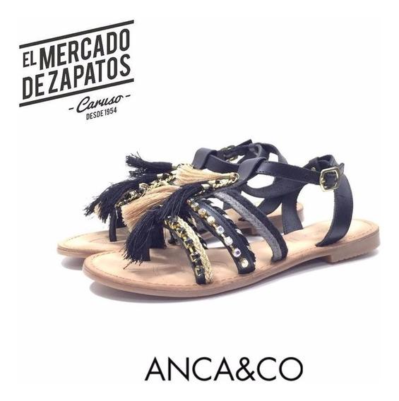 Anca & Co Sandalia Baja, Umma , Super Cancheras Y Comodas!