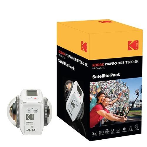 -10% Camara Kodak Pixpro Orbit360 Satellite Pack Visor 3d