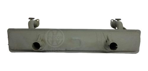 Silencioso Fusca C/defl +pré-aquec Reforçada Tipo Orig 3,5kg