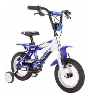 Bicicleta Bmx Cross Raleigh Mxr Rodado 12 Niño Nene