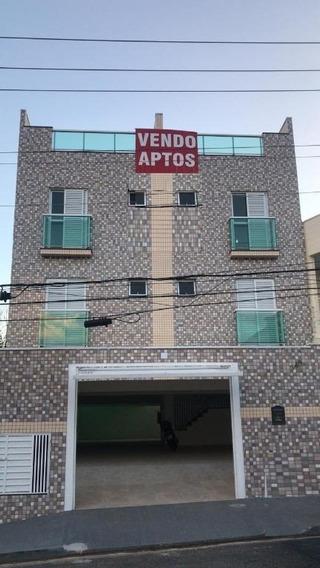 Cobertura Com 84 M² Sendo 2 Dormitórios, 1 Vaga À Venda Por R$ 315.000 - Vila Alpina - Santo André/sp - Co0884