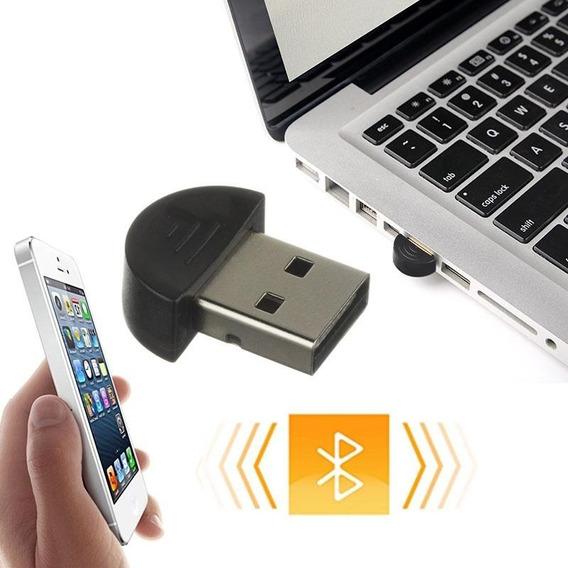 Mini Bluetooth Usb Dongle Laptop Pc Celular 2.0