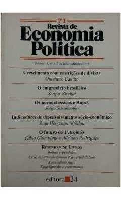 Revista De Economia Política Vol. 18 Nº3 Otavio Canuto/ Sér