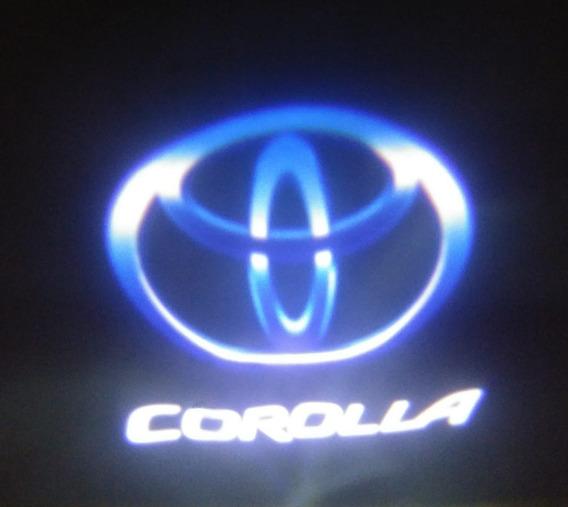 Luz De Puerta Led Toyota Corolla (par)