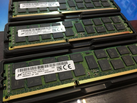 Memoria 16gb Ddr3 Rdimm Ibm M4 X3300 X3500 X3550 X3650 X3750