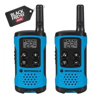 Par Radio Comunicador Talkabout T100br Motorola - Na Caixa