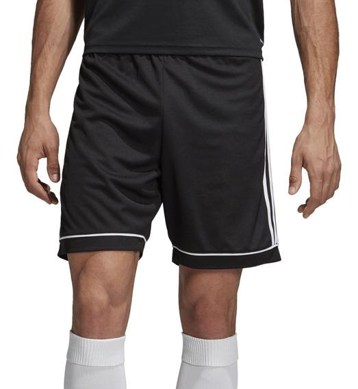 Short adidas Futbol Squad 17 Hombre Ng/bl