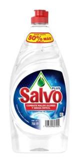 Jabon Liquido Trastes Salvo Plus Alternativa Al Cloro 750ml