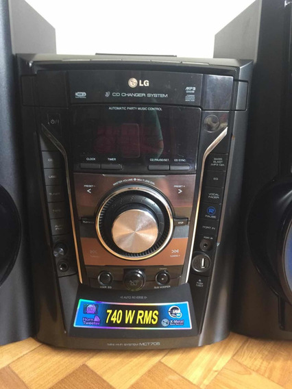 Som Lg (3 Cds) Change Systens - 740 Rms