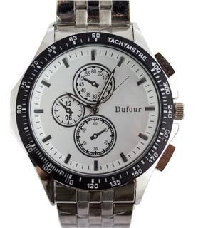 Reloj Dufour Original Classic Hombre Vestir Dos Colores Descuentos Por Cantidad