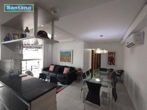 Apartamento Com 3 Dormitórios À Venda, 81 M² Por R$ 550.000.000 - Residencial Premier Turista I - Caldas Novas/go - Ap0349