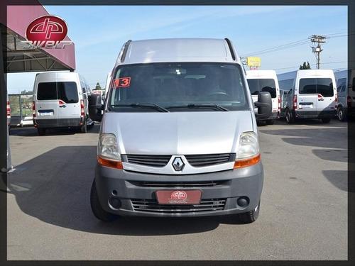 Imagem 1 de 15 de Van Renault Master 2.5 Passageiro Minibus L3h2 16l