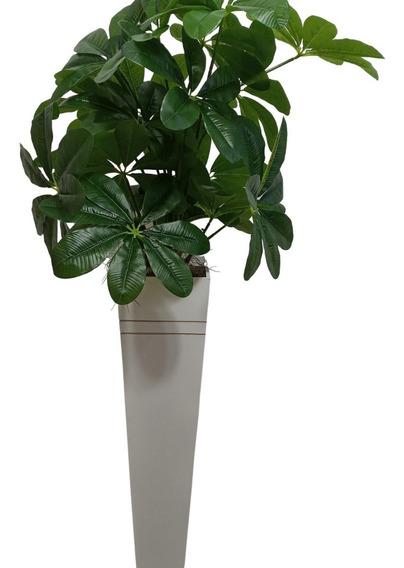 Moita Artificial - Árvore Verde Coluna Vaso De Chão