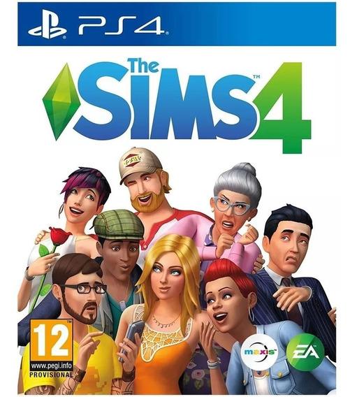 The Sims 4 Original Para Ps4 Jogo Midia Digital