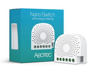 Nano Switch Inalámbrico-aeotec-z Wave-casa Inteligente