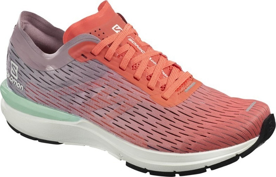 Zapatillas Salomon Sonic 3 Accelerate Mujer Running Coral