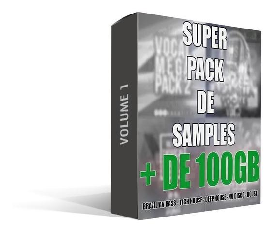 Super Pacote De Samples (br Bass,tech & Deep House) (+100gb)