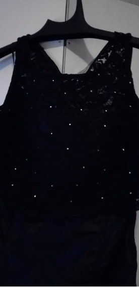 Vestido De 2 Piezas Negro Talle 3