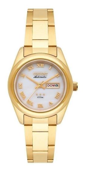 Relógio Feminino Orient Automático Dourado