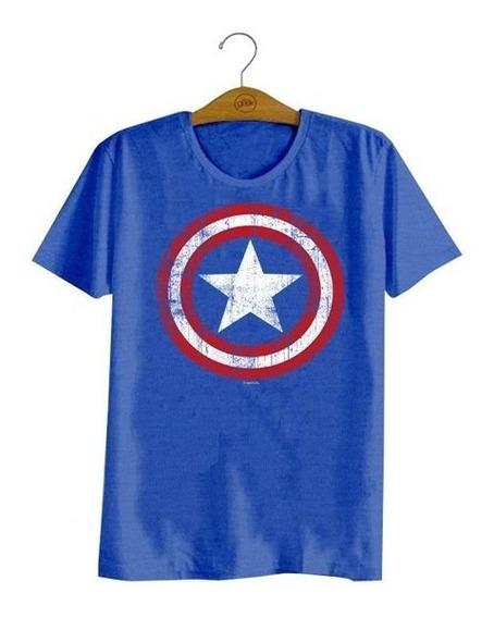 Camiseta Marvel Capitão América Original