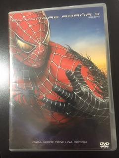 El Hombre Araña 3 .marvel (dvd Original)