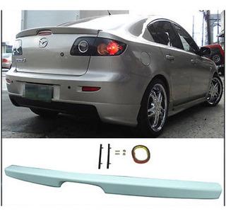 Mazda 3 Sedan Clasico Lip Spoiler De Baul