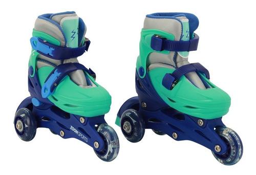 Patines Zoom Sports Fast Azul