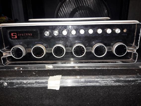 Amplificador Spectro Funciona So Um Canal