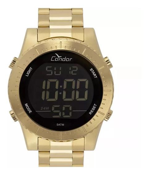 Relógio Condor Masculino Dourado Cobj3463aa/4d