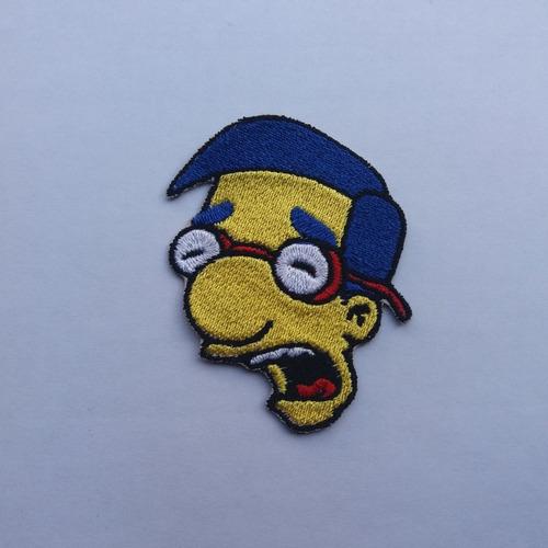 Parche Bordado Simpson Milhouse