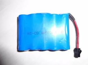 Bateria Ni-cd Aa 800 Mah 4.8v Carrinho Controle Produto Novo