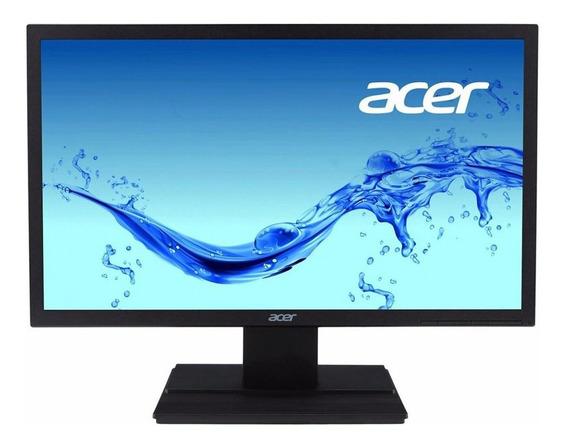 Monitor Led 19.5 Acer V206hql Hd Vga - Preto°