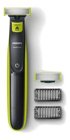 Barbeador Philips Sem Fio C/ 2 Pentes Lamina Extra Qp2522/10