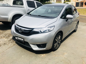 Honda Fit Ex S 2016 Prata Flex