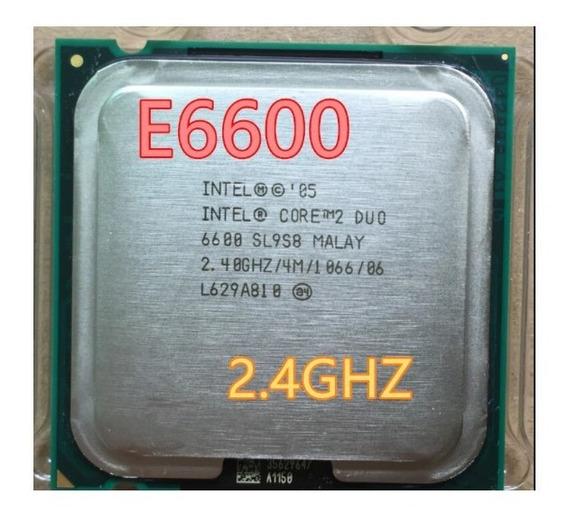 Processador Intel Pentium Core 2 Duo E6600 2.4ghz
