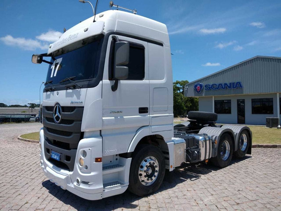Mb Actros 2546 Mega Space 2017, 6x2 Scania Seminovos Pr 5228