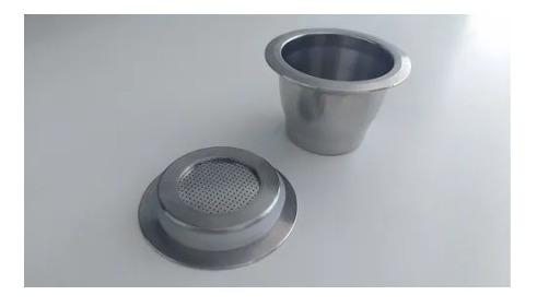 Capsula Inox Reutilizável Nespresso Essenza Mini