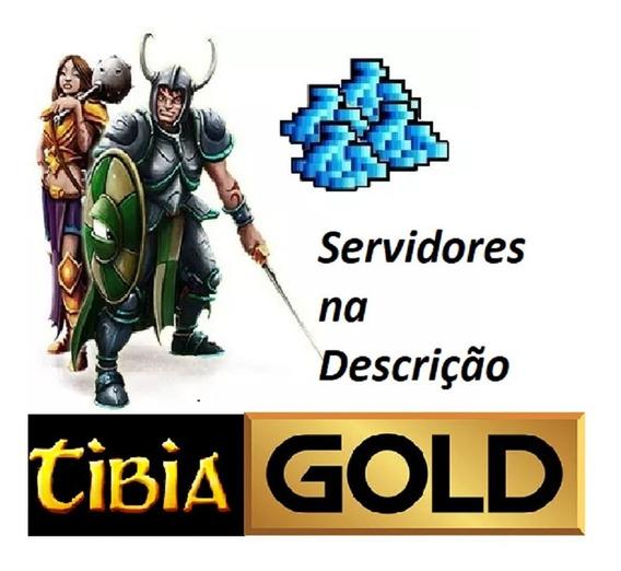 Tibia Gold 1kk ( Todos Os Servidores) Ganhe Um Brinde