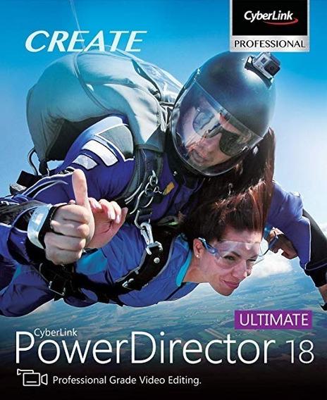 Cyberlink Powerdirector Ultimate 18 - 100% Original
