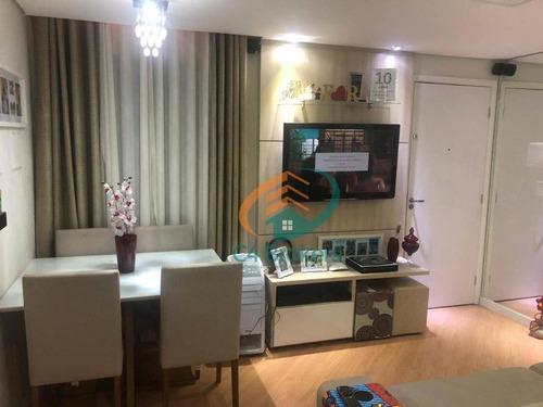 Apartamento Com 2 Dormitórios À Venda, 42 M² Por R$ 190.000,00 - Vila Alzira - Guarulhos/sp - Ap1279