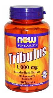 Now Foods Tribulus Terrestris 1000mg 90tabs Importado Eua